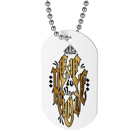 Aboriginal Moor not Indian Dog Tag