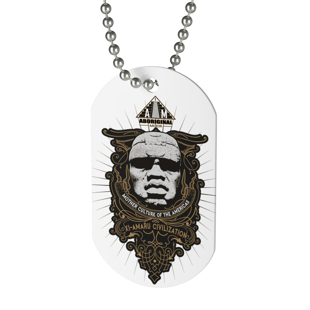 Aboriginal Moor Xi Amaru Dog Tag - aboriginalmoor