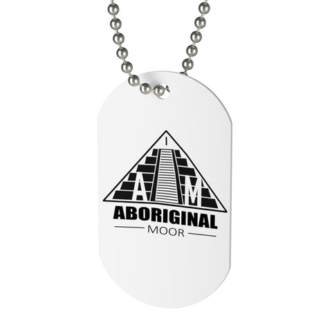 Aboriginal Moor Truth Liberty Freedom Dog Tag