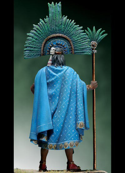 Resin Cast Kit 1/32 Scale 54mm Mayan tribal leader