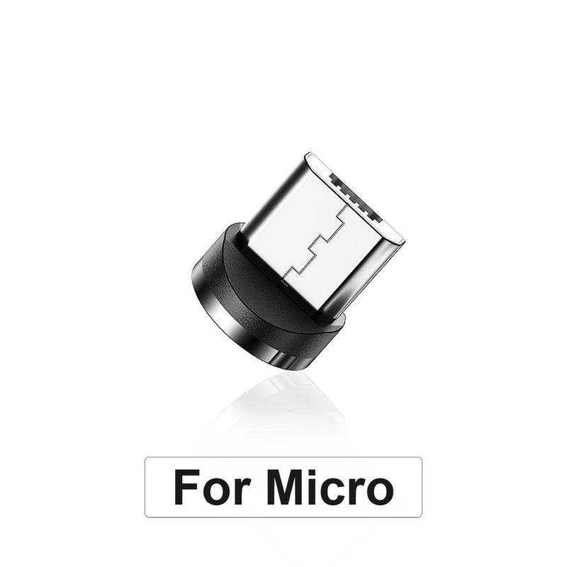 Twitch 2m Magnetic Micro USB Cable For iPhone Samsung Android Mobile Phone Fast Charging USB Type C Cable Magnet Charger Wire