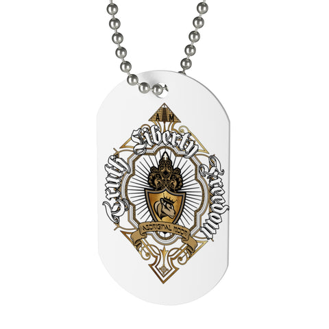Aboriginal Moor Peace to the Gods Dog Tag