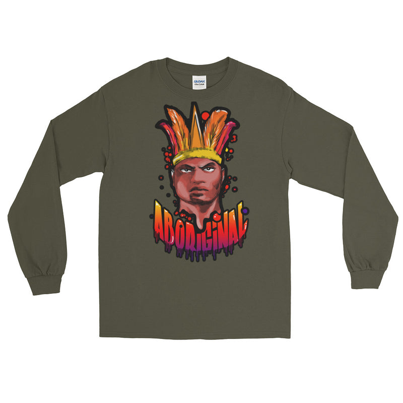 "Aboriginal Moor ""De Moriaan"" Long Sleeve T-Shirt"
