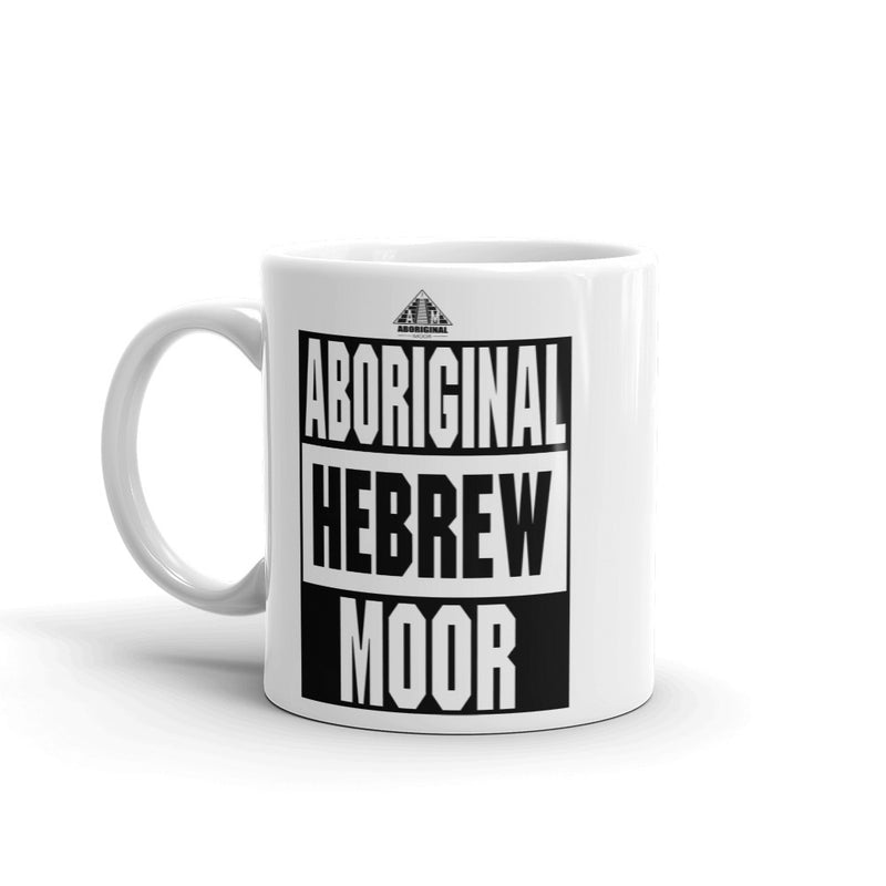Aboriginal Hebrew Moor Mug