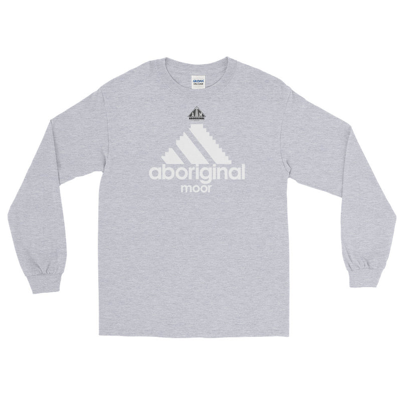 Aboriginal Moor Logo (Dark) Long Sleeve T-Shirt