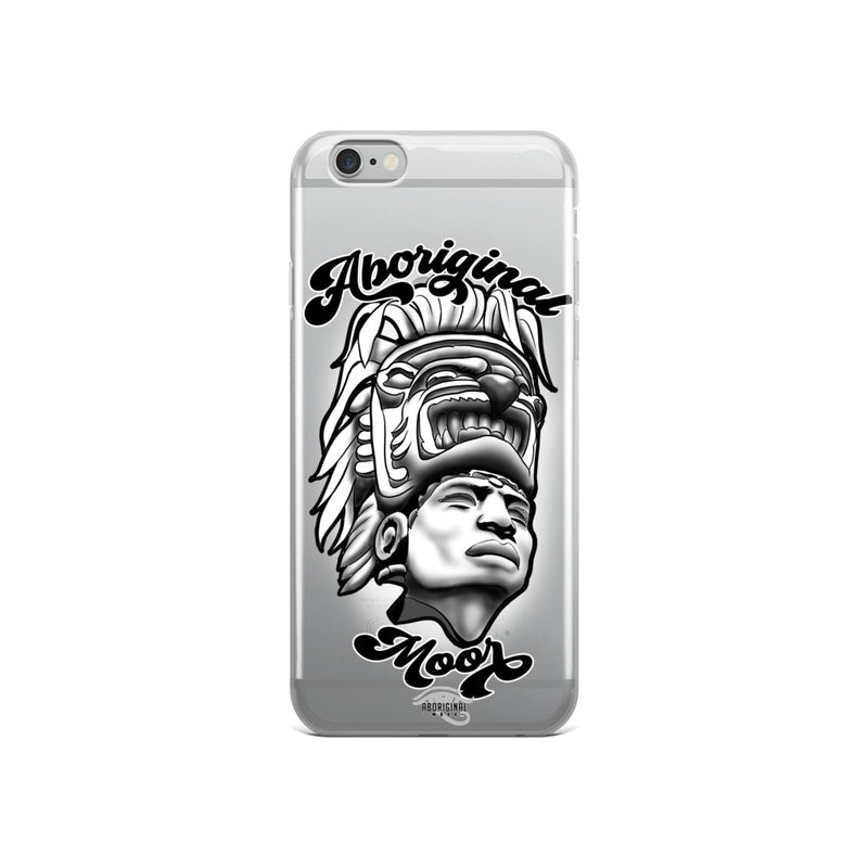 Aboriginal Moor Warrior iPhone Case