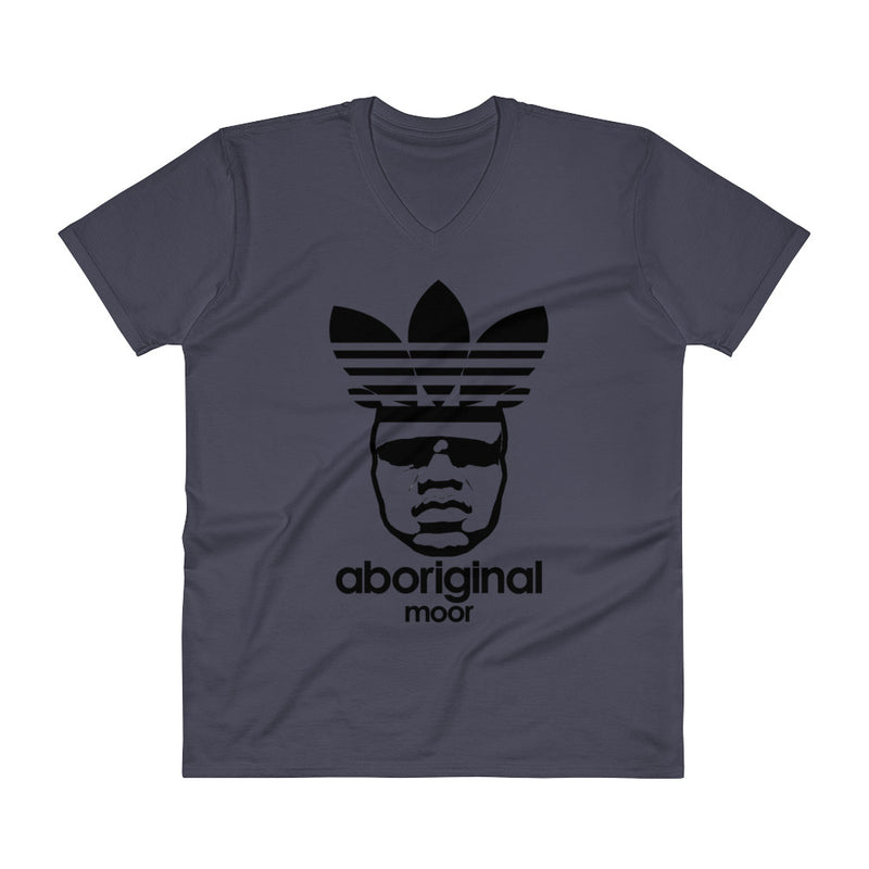 "Aboriginal ""De Moor"" (Light) V-Neck T-Shirt"