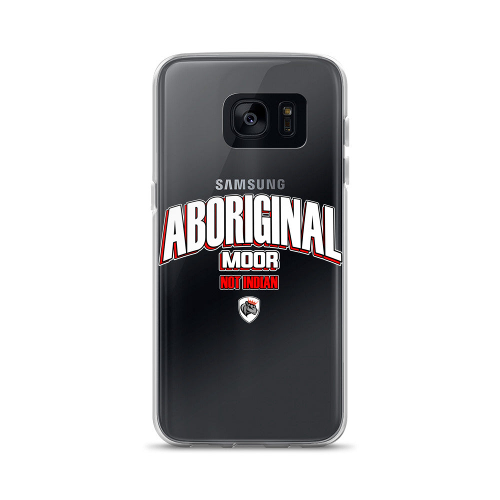Aboriginal Moor not Indian Samsung Case
