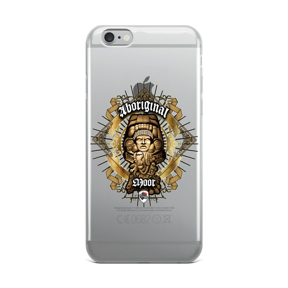 Aboriginal Moor Warrior 2 iPhone Case