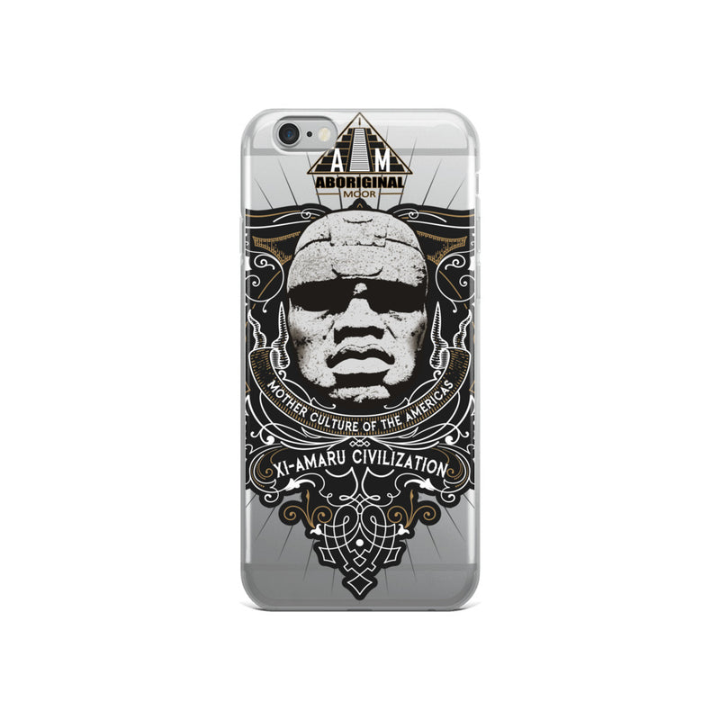 Aboriginal Moor Xi Amaru iPhone Case (All Models)