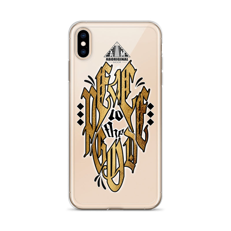 Aboriginal Moor Peace to the God iPhone Case