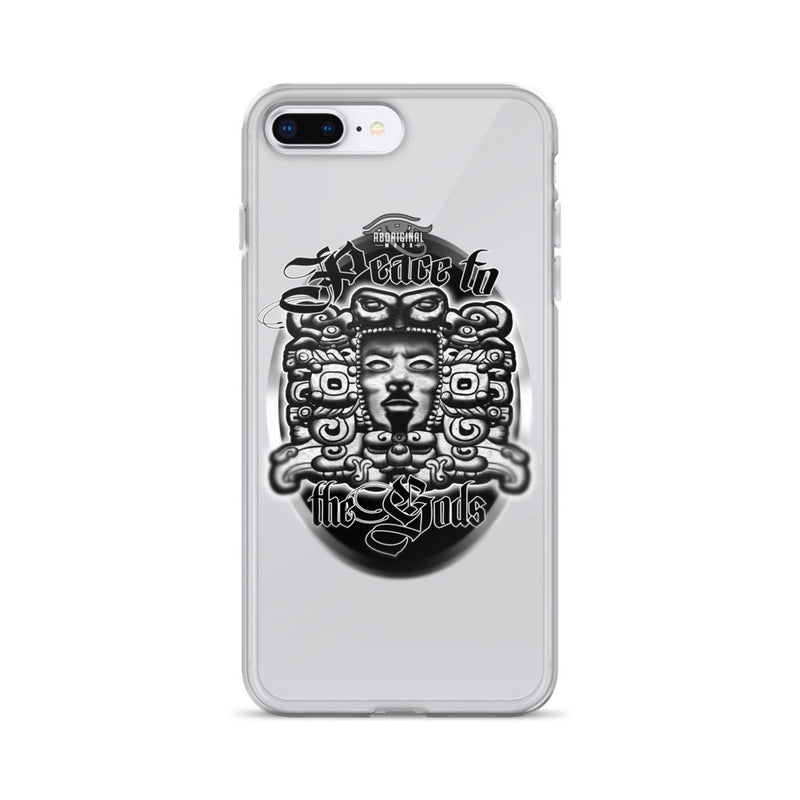 Aboriginal Moor Peace to the Gods iPhone Case