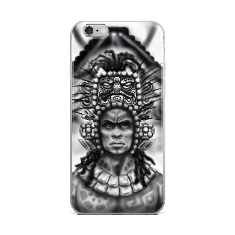 Aboriginal Moor Mayan iPhone Case