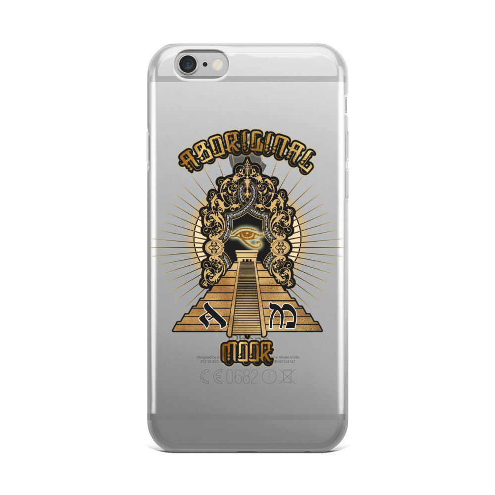 Aboriginal Moor Temple iPhone Case