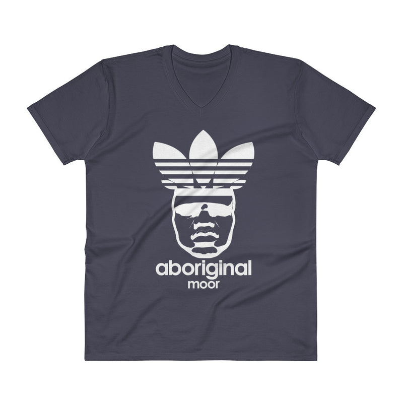 "Aboriginal ""De Moor"" (Dark Tees) V-Neck T-Shirt"