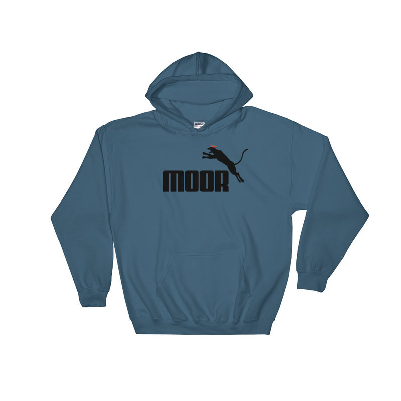 Aboriginal Moor Panther Logo (Light) Hooded Sweatshirt