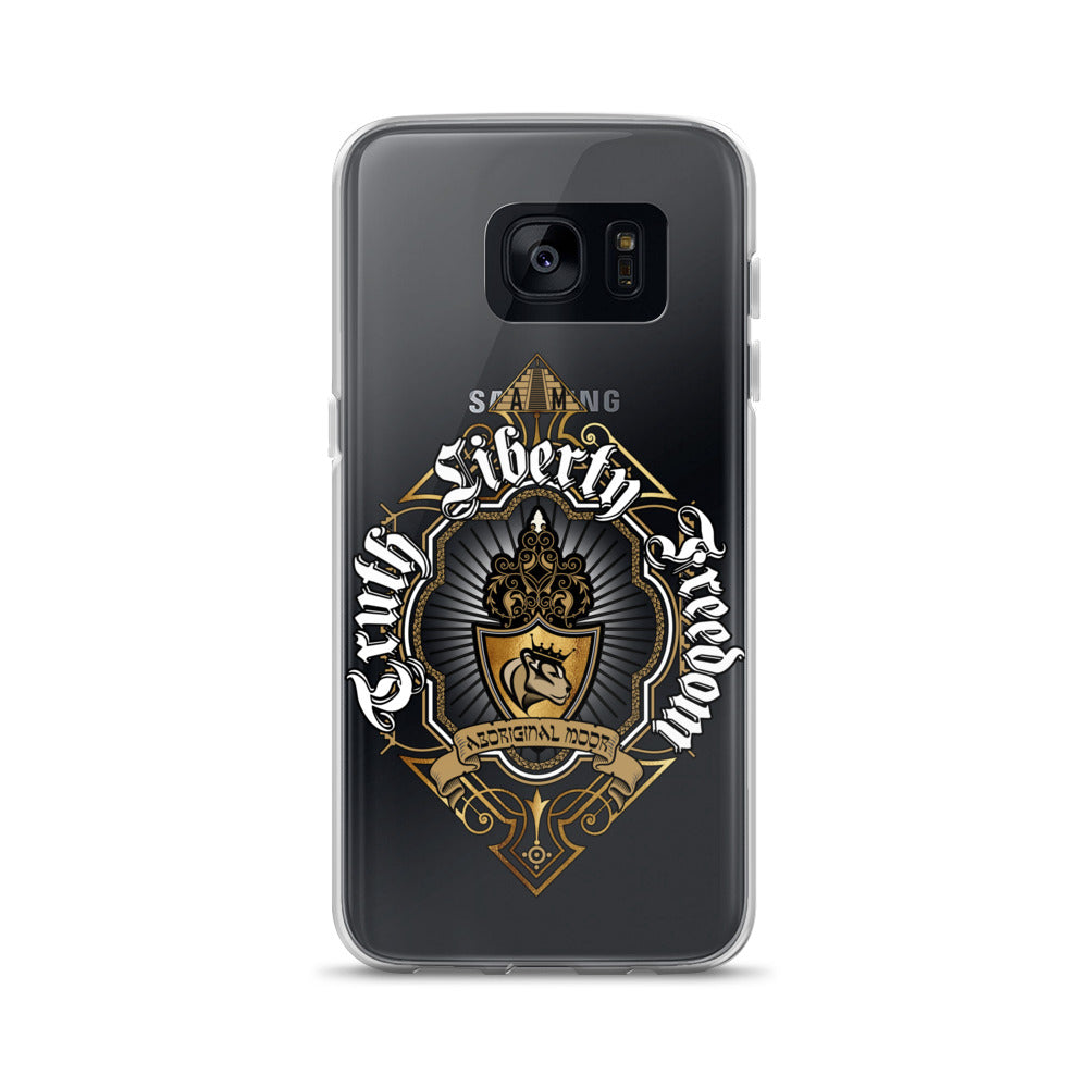 Aboriginal Moor Truth Liberty Freedom Samsung Case