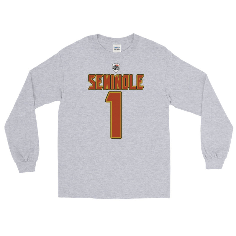 Aboriginal Moor Seminole Tribal Long Sleeve T-Shirt