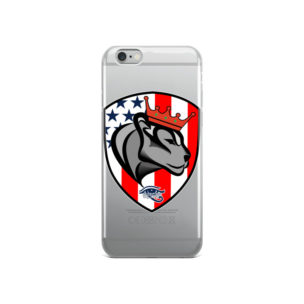 Aboriginal Moor Peace Crest iPhone Case