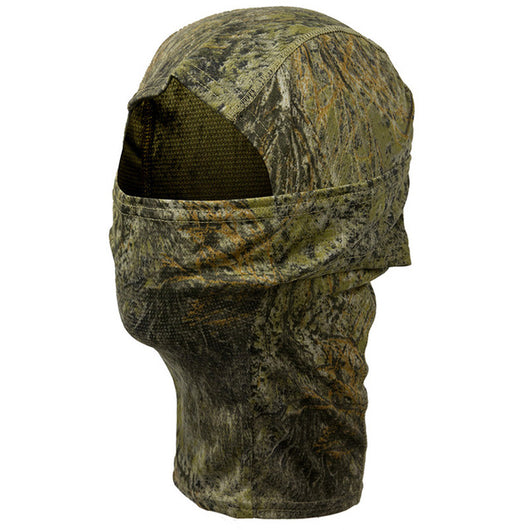Camouflaged Full Face Mask & Hood