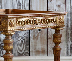 Louis XVI Style Giltwood Side Tables Made by La Maison London