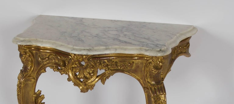 Louis XV Style Consoles
