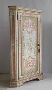 19th Century Italian Painted Corner Cabinets