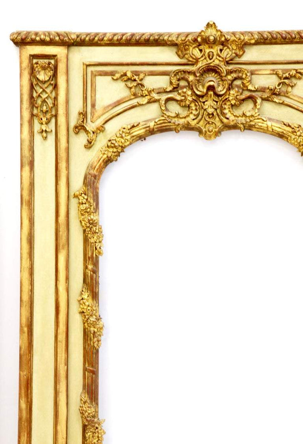 Pair of Louis XV Style Trumeau Mirrors