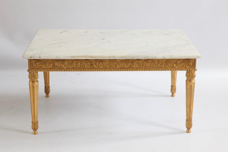 Louis XVI Style  Coffee Table