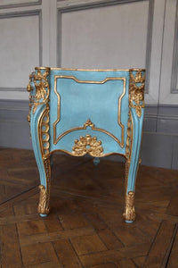 Italian Baroque Style Giltwood Commode