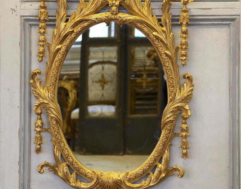 George IV Style Giltwood Mirror