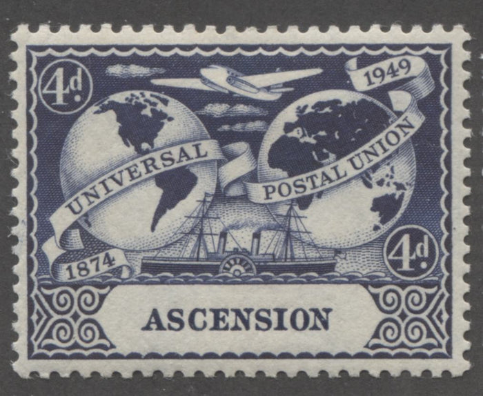 The Colours Used for the 1949 UPU Issue Common Design Stamps