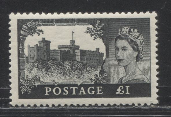 The Castle High Value Definitives of Great Britain - 1955 to 1968