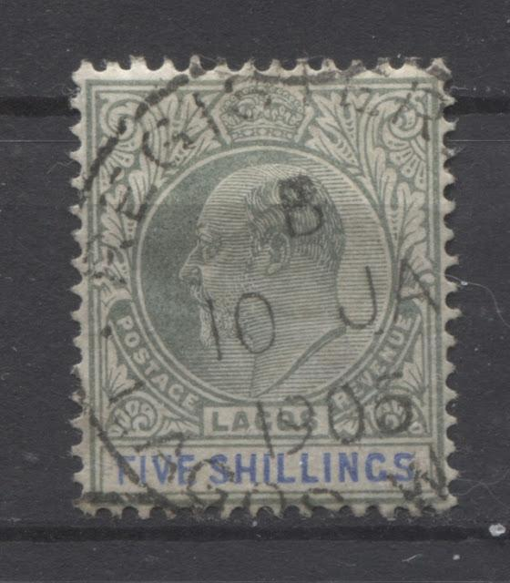 Cancellations and Postal History of the 1904 King Edward VII Issue of Lagos