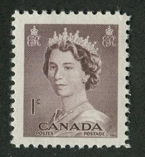 Collecting the Definitives of Queen Elizabeth II 1953 to Date, Paper Fluorescence and Tagging