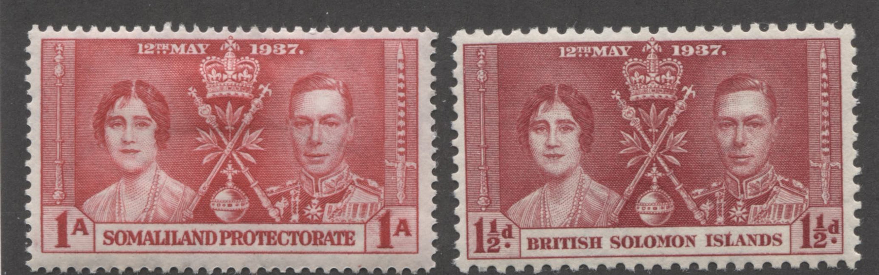 Into The Red Part Two - The 1937 Coronation Issue Common Design