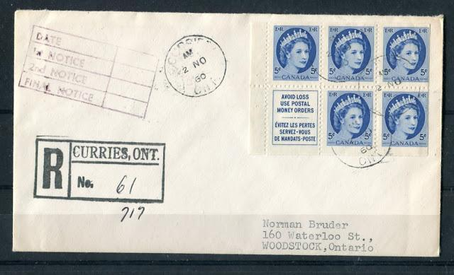 Postal History and Postal Stationery of the Wilding Issue 1954-1967
