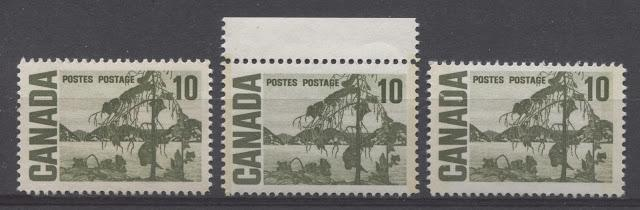 The 10c Jack Pine Stamp of the 1967-73 Centennial Issue Part Three
