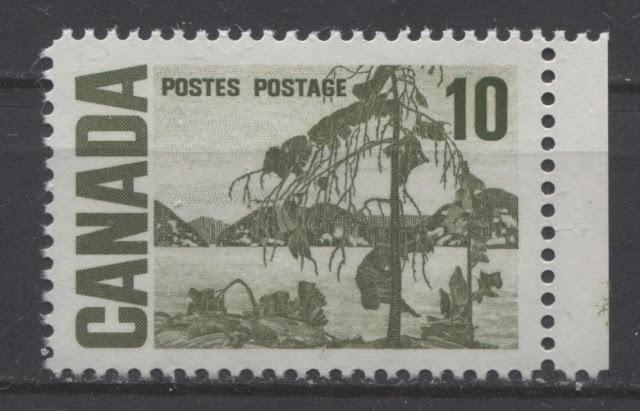 The 10c Jack Pine Stamp of the 1967-73 Centennial Issue Part Two