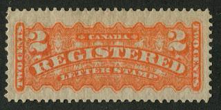 The 1875-1888 Registered Stamps