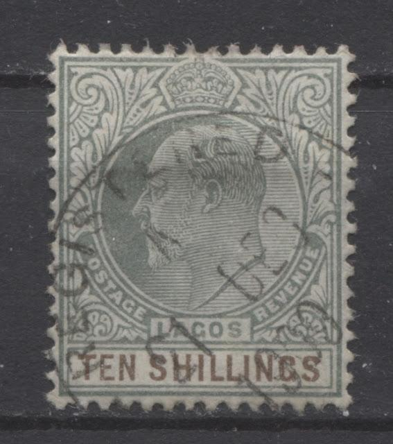 The 1904-1906 King Edward VII Keyplate Issue of Lagos Part Two