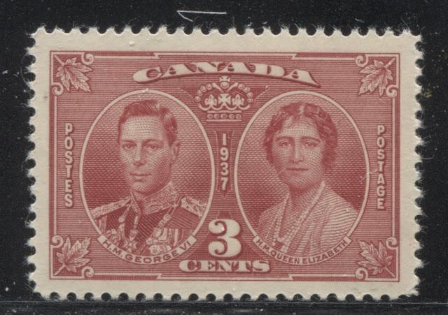 The 1937 Coronation and 1939 Royal Visit Issue
