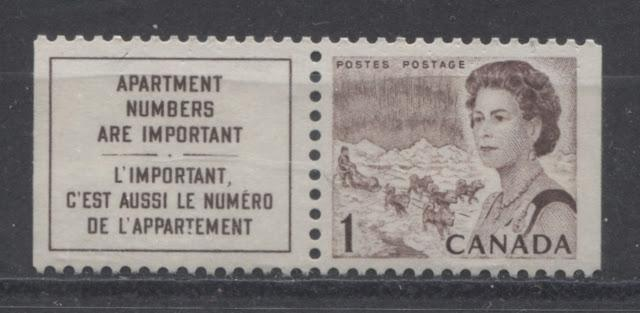 The 1c Brown Northern Lights and Dogsled Stamp of the 1967-1973 Centennial Issue - Part Four