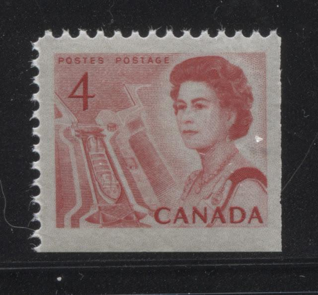 The 4c Seaway Lock Stamp of the 1967-1973 Centennial Issue Part Three