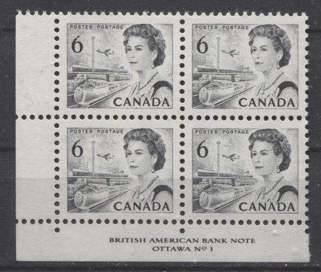 The 6c Black Transportation Stamp of the 1967-73 Centennial Issue Part One