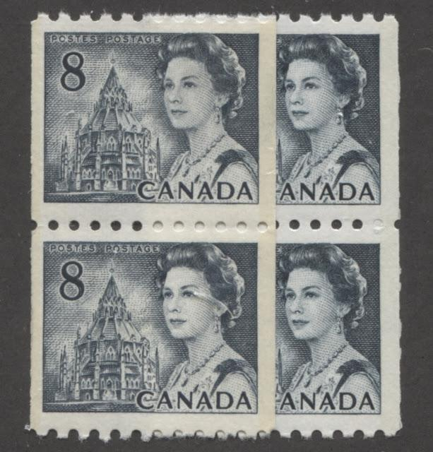 The 8c Slate Parliamentary Library Stamp of the 1967-1973 Centennial Issue Part Four