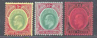 The Coloured Papers Of The Colonial Period Stamps