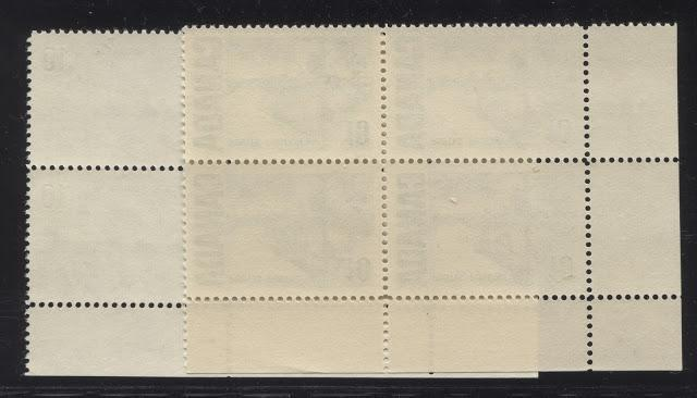 The Gum Types On The 1967-1973 Centennial Issue