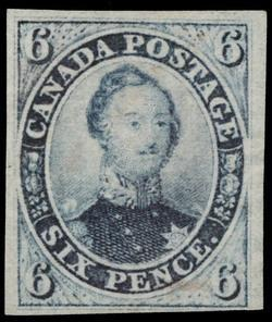 The Imperforate Pence Issues of Canada 1851-1858