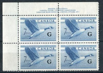 The Official Stamps of the Karsh and Heritage Definitive Issue 1953-1963